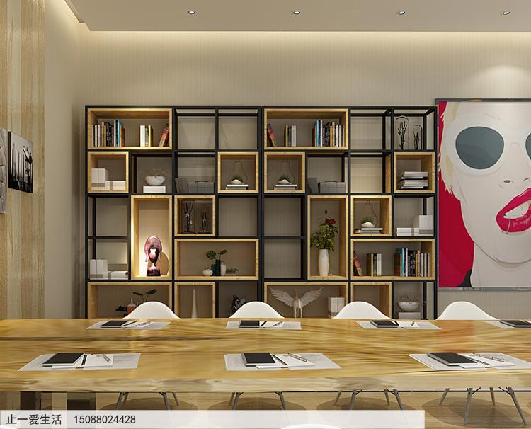 不銹鋼辦公室隔斷屏風架子經典場景搭配效果圖圖片