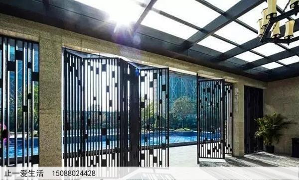 不锈钢庭院屏风_室外景观屏风装饰效果-图片大全-止一